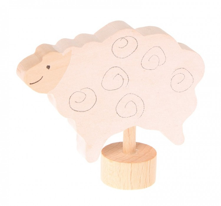Decorative Figure Standing Sheep